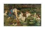Hylas and the Nymphs  1896