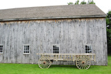 Old Shaker Barn with Wagon Photo Poster