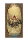 St Eusebius Carried to Heaven  C1757