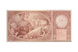 50 Crown Banknote of the Republic of Czechoslovakia  1931