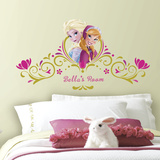 Frozen SpringTime Custom Headboard Peel and Stick Giant Wall Decals