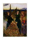 Autumn Leaves  1856