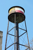 Greenpoint Brooklyn Water Tower Photo Poster