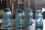 Vintage Quaker Mason Canning Jars Photo Poster