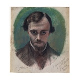 Portrait of Dante Gabriel Rossetti  1853