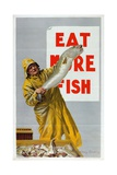 Eat More Fish  from the Series 'Caught by British Fishermen'