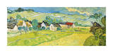 Vue ensoleillée près d'Auvers Giclée par Vincent Van Gogh