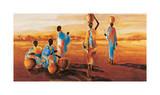 Apres-Midi en Afrique Giclée par Jaques Beaumont