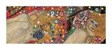 Eau mouvante Giclée par Gustav Klimt
