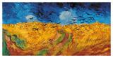 Le Champs de blé aux corbeaux, 1890 Giclée par Vincent Van Gogh