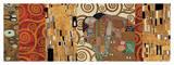 Deco Collage (from Fulfillment, Stoclet Frieze) Giclée par Gustav Klimt