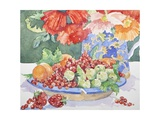 Fruit on a Plate  2014