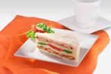 Vegetable & Chicken Sandwich 2