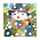 Snowman in Snow  2011