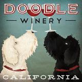 Doodle Wine Reproduction d'art par Ryan Fowler