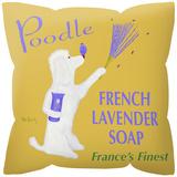 Poodle French Lavendar Soap Pillow