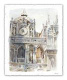 Architectural Watercolor Study II