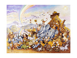 Noah's Happy Ending Giclée par Bill Bell