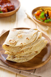 Chapati or Chapatti  Indian Dhal and Chicken Curry  Popular Indian Food