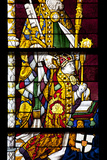 Germany  Cologne  Cologne Cathedral  North Aisle  Stained Glass Window  St Peter and Tree of Jesse