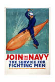 Join the Navy  the Service for Fighting Men