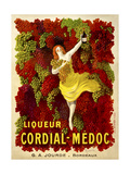 Liquer Cordial-Médoc  G A Jourde - Bordeaux