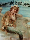 Mermaid Bathsalts Giclée