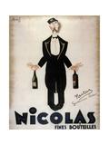 Nicolas Fines Bouteilles Giclée