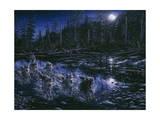 Midnight Pursuit Giclée par Jeff Tift