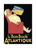Le Bon Bock Atlantique Reproduction d'art