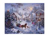 Joyeux Noël Giclée par Nicky Boehme