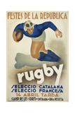 Rugby Giclée
