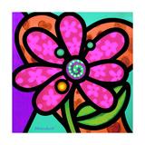 Pinwheel Daisy Pink