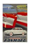 Panhard Automobiler by Mediterranean Beach