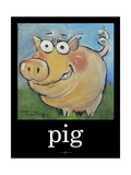 Pig Poster