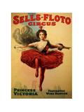 Sells-Floto Circus Giclée