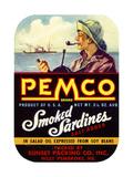 Pemco Brand Smoked Sardines