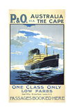 P and O Australia Via the Cape