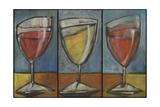 Wine Trio Triptych