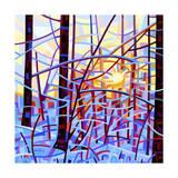 Lever du soleil Giclée par Mandy Budan
