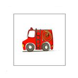 Ba Fire Truck Giclée