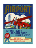 Airport Bourbon Whiskey Giclée