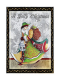 A Jolly Christmas - Greeting Card Dimensions