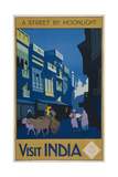 A Street by Moonlight - Visit India
