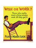 Wish or work