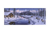 Winter Silence Giclée par Jeff Tift
