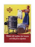 Vintage Swiss Laundry Ad