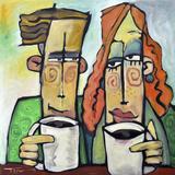 Coffee Date Giclée par Tim Nyberg
