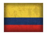 Colombie Giclée par David Bowman