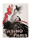 Casino de Paris Red and Black